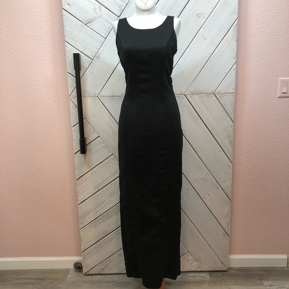 Mary's Bridal Dresses & Skirts - Mary's Retro Black Full Length Detachable Train